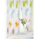 "Dinosaurs KZKZ - 66x72"" Curtains"
