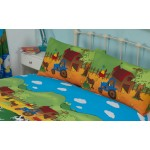 Farmyard Friends - Pillowcase Pair