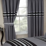 "Glitz Charcoal Mix - 66x72"" Curtains"