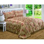 Anastasia Throw Over Bedspread Set - DB