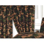"Camouflage Khaki - 66x72"" Curtains"