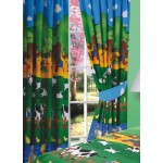 "Farmyard Friends - 66x54"" Curtains"