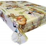 "Thelwell 'Trophy' - Tablecloth 54""x70"""