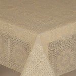 PVC Lace Amelie Cream - Lace Table Cloth Range