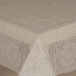 PVC Lace Amelie White - Lace Table Cloth Range