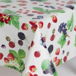 PVC Berries - Vinyl Table Cloth Range