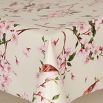 PVC Birds - Vinyl Table Cloth Range