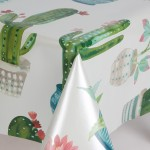 PVC Cactus - Vinyl Table Cloth Range