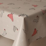 PVC Chickens - Vinyl Table Cloth Range