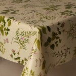 PVC Herb Garden - Vinyl Table Cloth Range