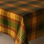 PVC Highland Green - Vinyl Table Cloth Range