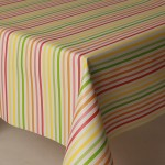 PVC Multi Stripe - Vinyl Table Cloth Range