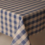 PVC Picnic Blue - Vinyl Table Cloth Range
