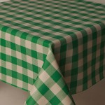 PVC Picnic Green - Vinyl Table Cloth Range