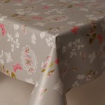 PVC Pink Butterflies - Vinyl Table Cloth Range