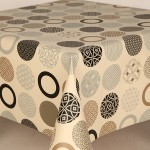 PVC Sphere Natural - Vinyl Table Cloth Range