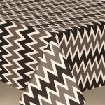 Acrylic Zap Grey - Acrylic Coated Table Cloth Range