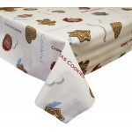 PVC Gingerbread - Vinyl Table Cloth Range
