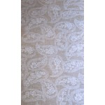 Acrylic Paisley Mini - Acrylic Coated Table Cloth Range