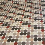 Acrylic Grey Spots - Acrylic Coated Table Cloth Range