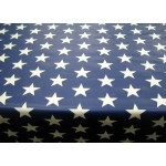 PVC Stars Navy Blue - Vinyl Table Cloth Range
