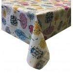 PVC Funky Trees - Vinyl Table Cloth Range